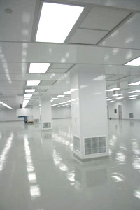 Webb Core cleanroom