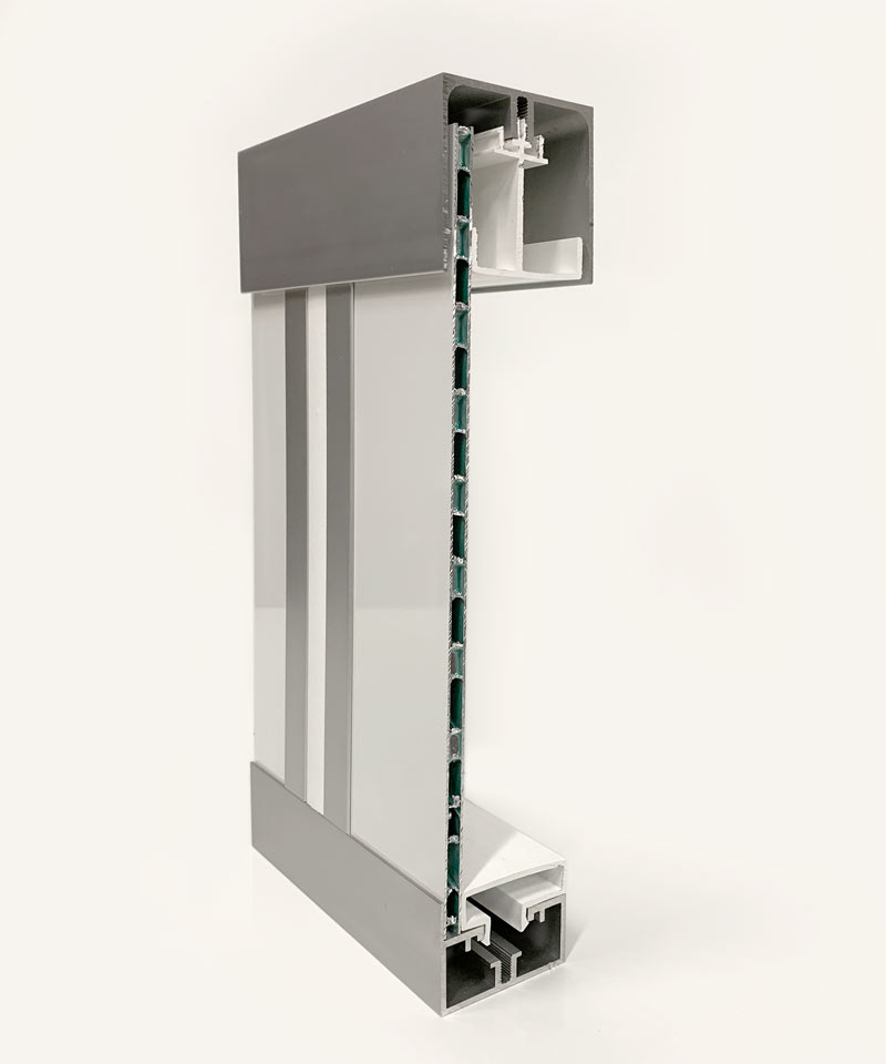 Single 1/4inch cleanroom wall system