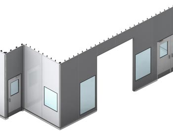 Cleanroom Wall Panel System