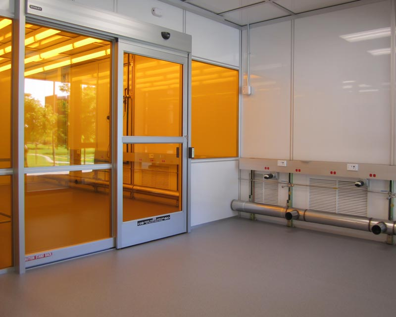 cleanroom wall system